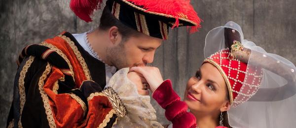 Фото в средневековых костюмах в Таллинне