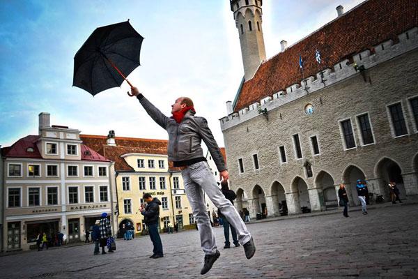 Фотограф в Таллинне