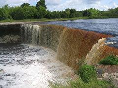 Водопады Эстонии