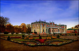 Kadriorg Palace and Park in Estonia