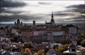 Old Town Tallinn in Estonia