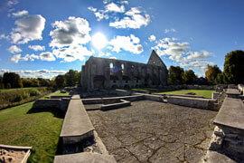 Pirita Convent in Estonia