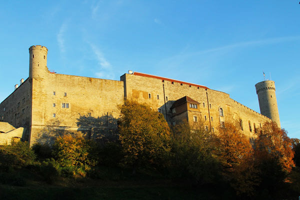 Toompea Castle in Tallinn Estonia