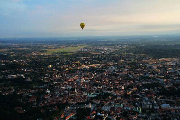 Hot Air Balloon Ride in Tallinn with Discover Estonia