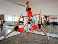 Pole Dance Acrobatics Master Class